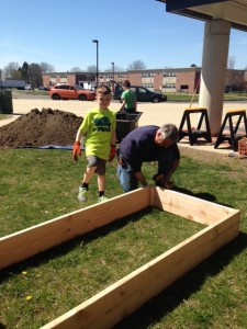 Building the beds