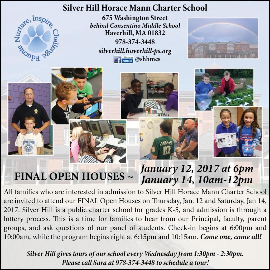 SHHMCS January 2017 Open House 2017 update