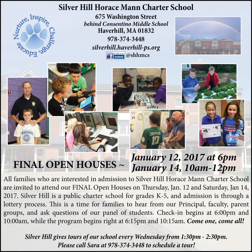 SHHMCS January 2017 Open House 2017 update